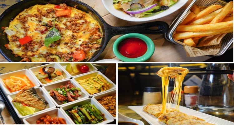 高雄新興區美食 您的日夜小餐館-就是從早吃到晚,蛋餅燉飯烘蛋九宮格清粥小菜