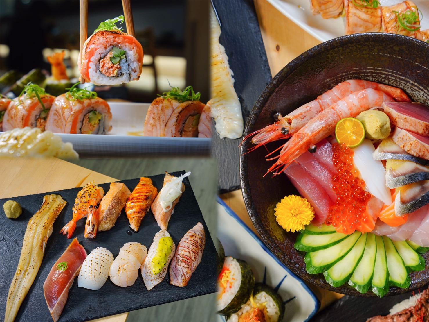 高雄苓雅區美食 橘葉壽司丼飯專門店-苓雅CP值最高,有質感的日式壽司丼飯