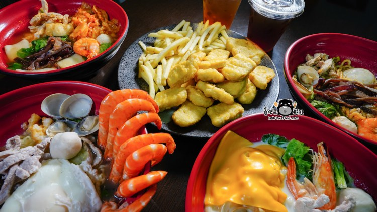 高雄三民區鍋燒麵 參食號鍋燒-無味精鍋燒麵,新鮮的料吃進嘴裡就知道