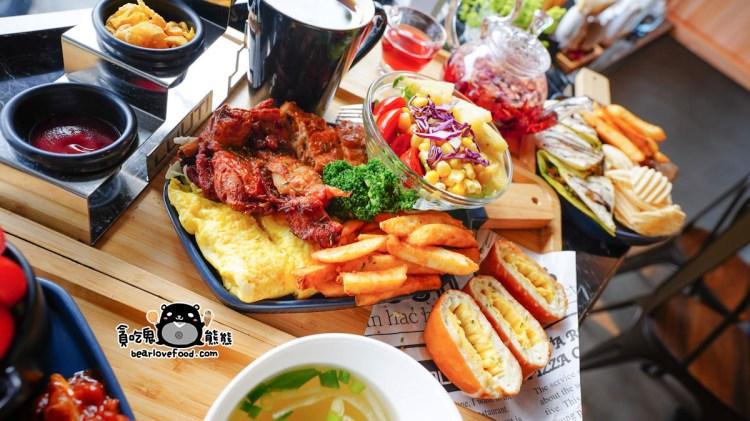 屏東潮州美食 樓梯louti潮州店-食尚環境,多樣餐點澎派滿滿上桌了