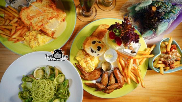 高雄鳳山必吃 夢鄉Dreamland-全時段都能吃到早午餐拼盤,不使用調理包好吃推薦