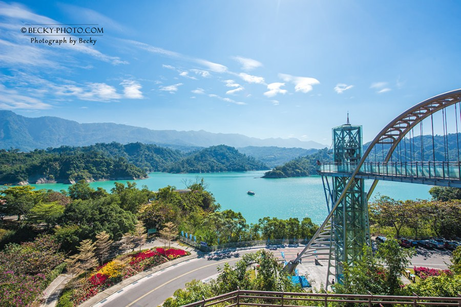 【嘉義】。台灣曾文水庫美到不行!野豬騎士來了搭船去「山豬島」、360度水庫景觀塔