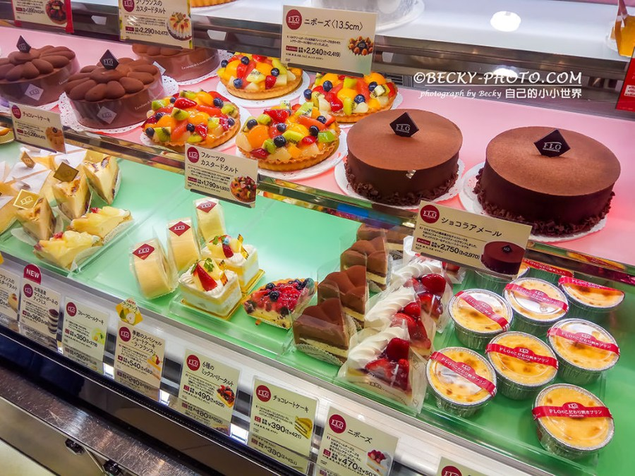 【宮城】。仙台車站餐廳 百貨美食街盛岡冷麵、FLO蛋糕甜點