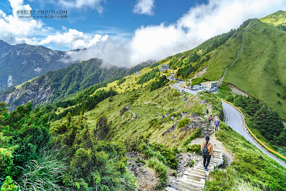 台灣合歡山高山風景