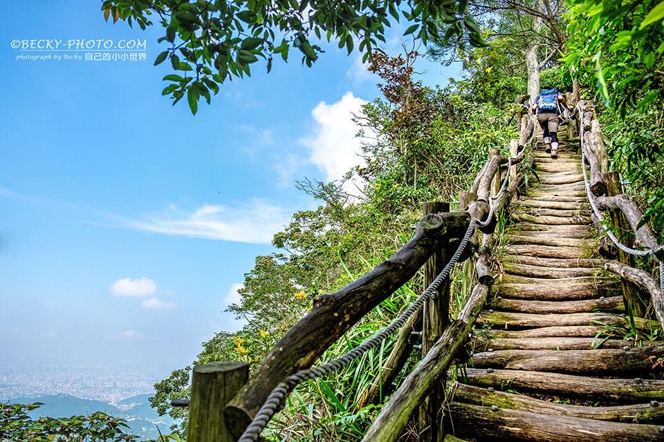 【臺中】。第一次挑戰大坑4號步道頭嵙山風景美!臺中大坑風景 - [自己的小小世界] 旅遊.攝影