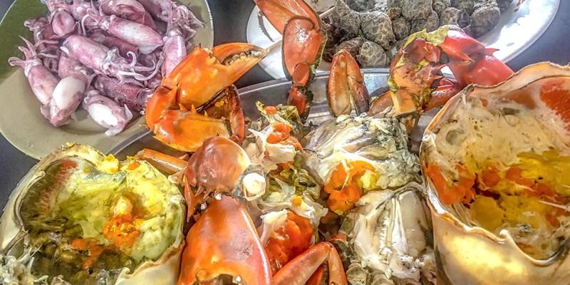 【新北】。到阿嬌萬里蟹吃紅蟳  蟹肉超飽滿! 結束去周邊景點:湖海灣/老鷹岩看基隆嶼