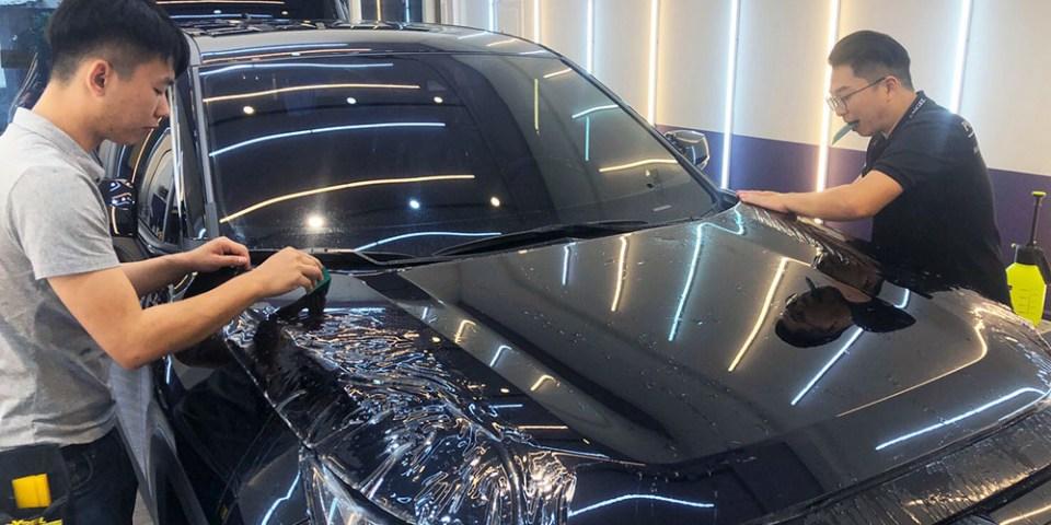 【高雄車體包膜】星城車體包膜 高雄Xpel汽車包膜首選 自體修復犀牛皮 Toyota RAV4車體包膜 原廠十年保固、不泛黃、不翹邊