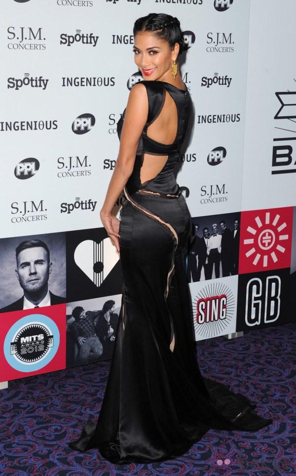 Nicole Scherzinger presume de vestido en la gala Music ...