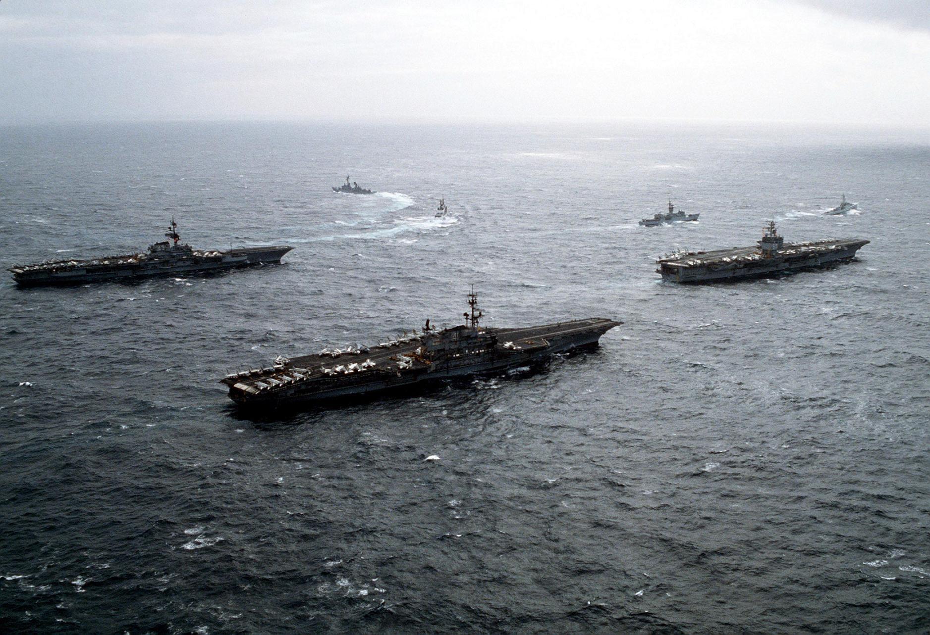 Sea Cv Coral Enterprise Cv 65 43 Midway Uss 41 Uss Cv Uss