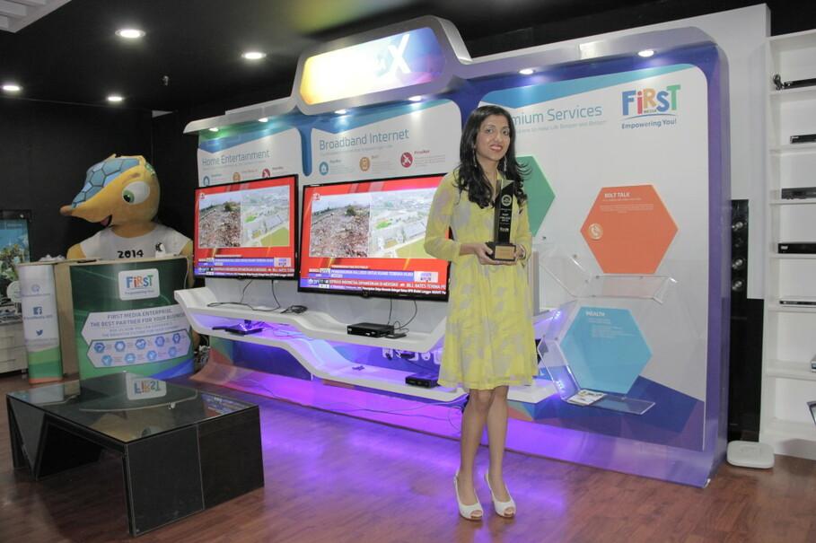 Content & Marketing Director of Link Net Meena K. Adnani | jakartaglobe
