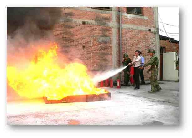 常用灭火器的操作使用方法