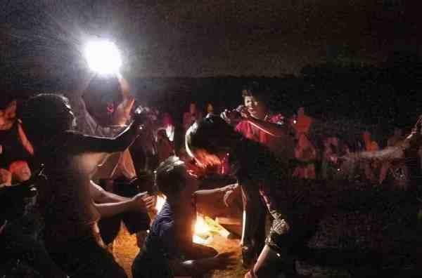 篝火晚会趣味小游戏