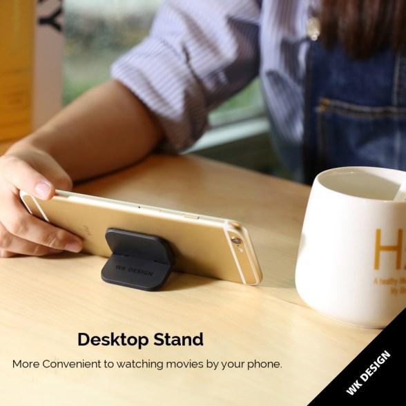 WKDesign2PSĐachứcnăng Chống trượt Có thể gập lại Máy tính để bàn Stand Holder cho Điện thoại Máy tính bảng Máy tính xách tay