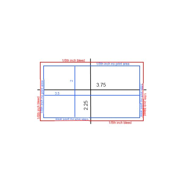 Business card size business card printing business business card size design space what is the standard business card size and why shouldn t you stray from using it business card size posted by reheart Gallery
