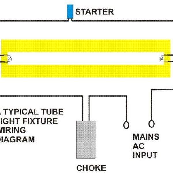 how do fluorescent tube lights work explanation  diagram