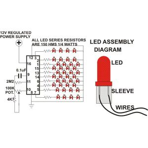 How to Build a Simple Circuit For LED Christmas Tree