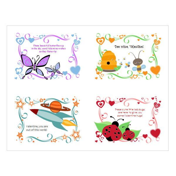 5 Free Valentines Day Templates And Designs From