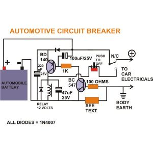How to Build a Smart Automotive Circuit Breaker? A