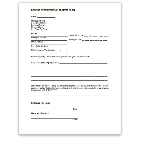 employment write up form