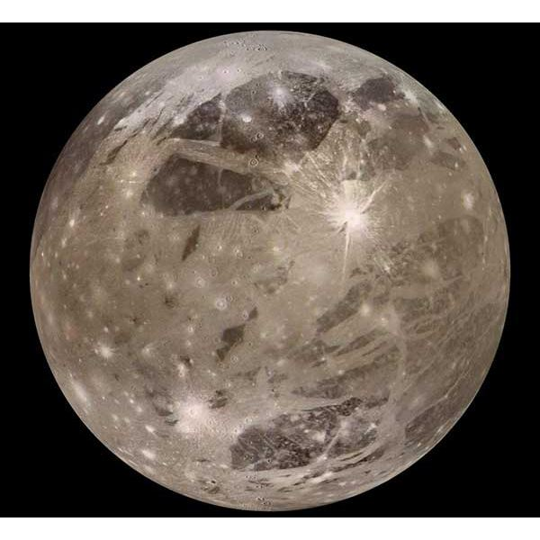 Interesting Facts About Ganymede, Jupiter's Moon, the ...