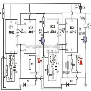 Build a TwoStage Programmable Timer Counter Circuit