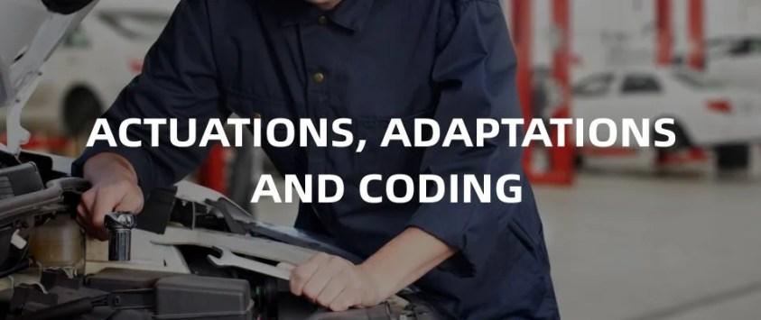 Foxwell i70ProPremier Diagnostic Platform Actuation, Adaptations And Coding