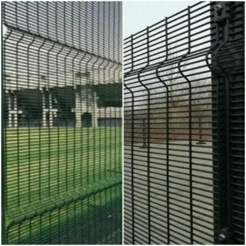 clear vu fence 1 8m x2 5m green set
