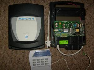 Other Home Security  MERLIN 4 Joule Energizer, ideal for home electric fence installation with