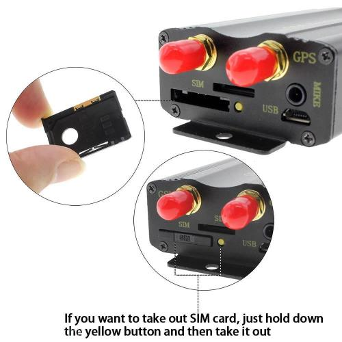 Vehicle Real-Time Tracking Device GPS/SMS/GPRS Tracker TK103A - R999