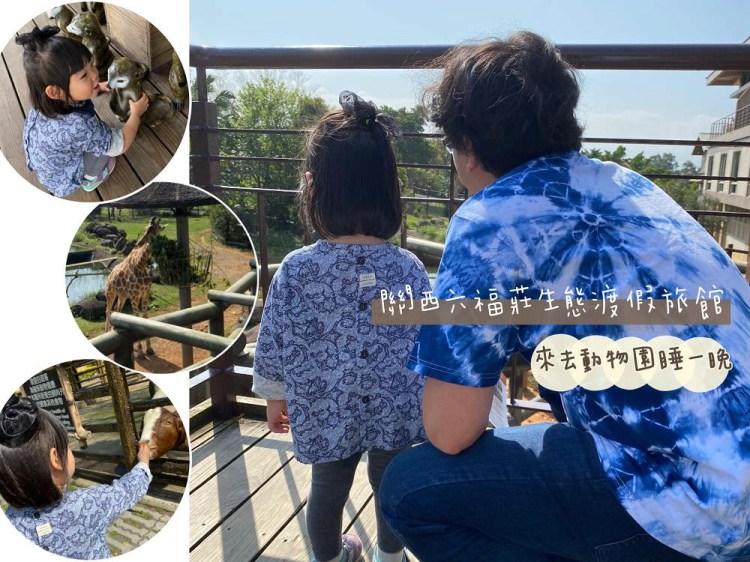 親子旅遊 | 來去動物園住一晚。關西六福莊生態渡假旅館。買一送一正划算!