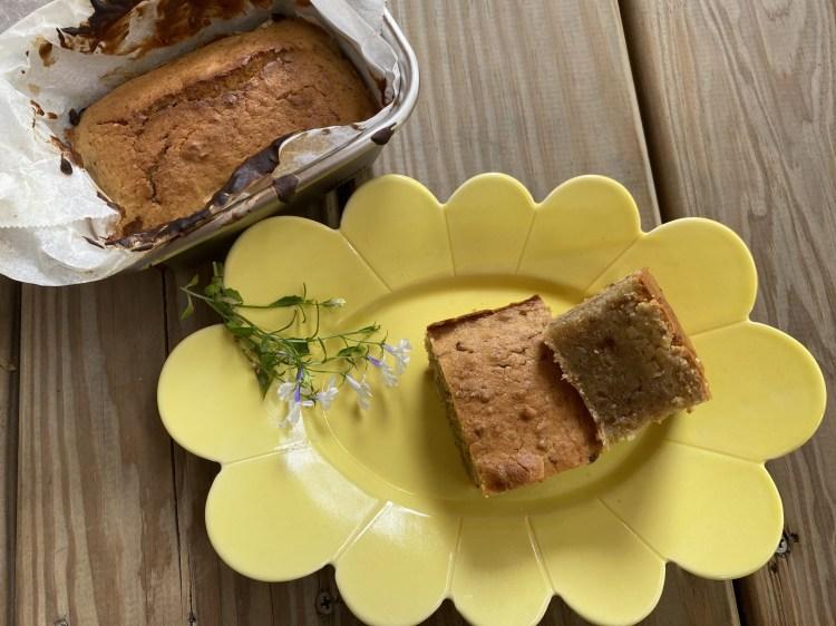 幼兒烘焙 | 小小孩香蕉堅果蛋糕(減糖配方)