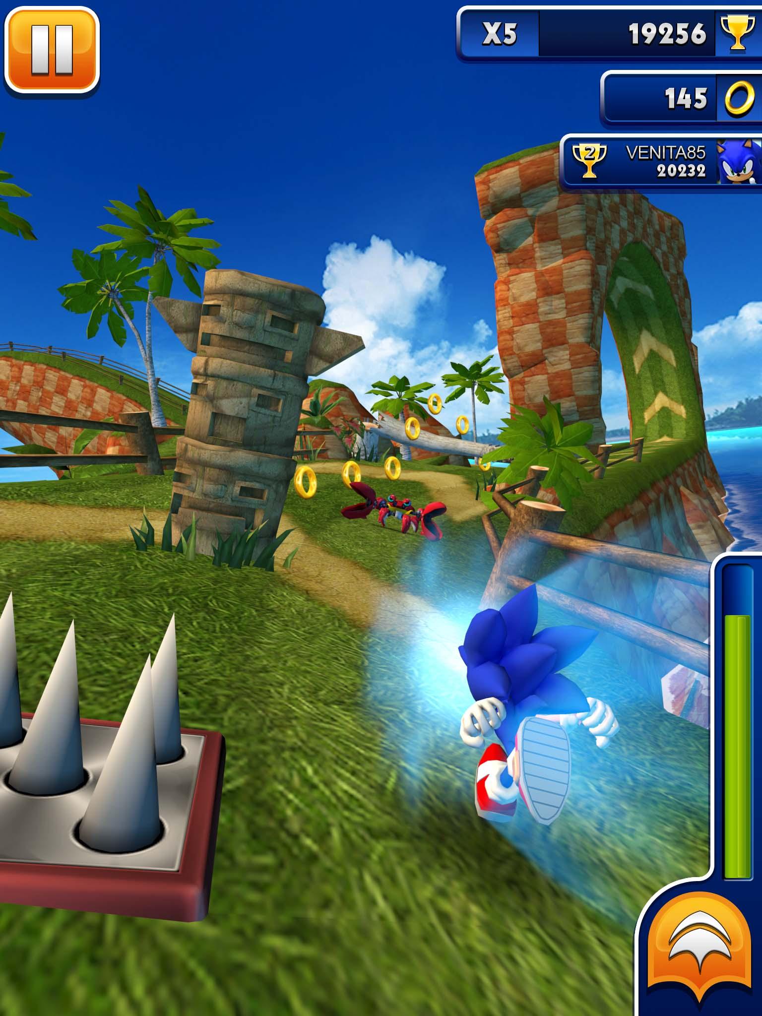 【修改版】Sonic Dash 音速小子 4.8.0 無限金幣 - Android 遊戲.應用下載 - 冰楓論壇 - 綜合論壇.外掛下載.外掛討論 ...