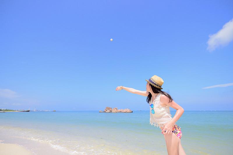 沖繩,安良波,旅遊,海