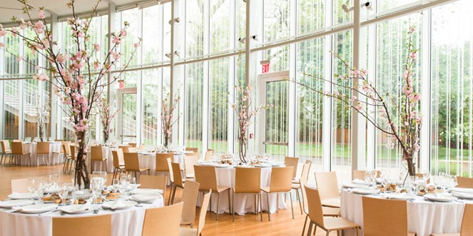 Brooklyn Botanic Garden Atrium Wedding