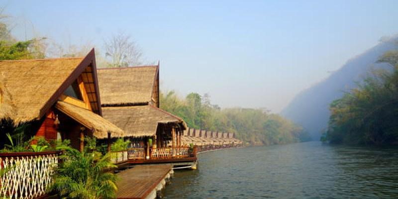 【泰國北碧】媲美馬爾地夫水上屋的天然度假村 -- The Float House River Kwai Resort Kanchanaburi