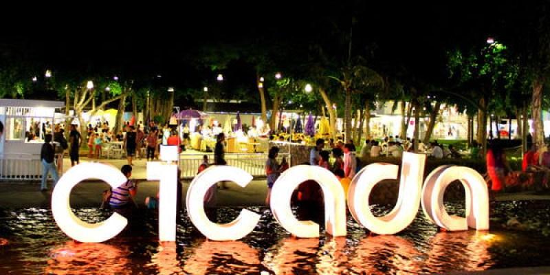 來到華欣,就肯定要路過的CICADA週末創意市集