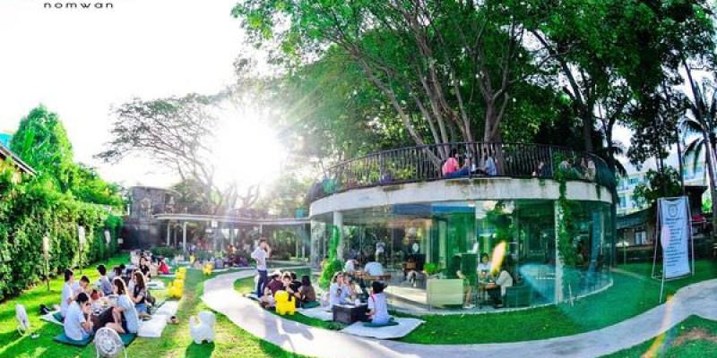 猶如奇蹟般存在的夢幻花園-Namon NomWan大樹咖啡甜點屋
