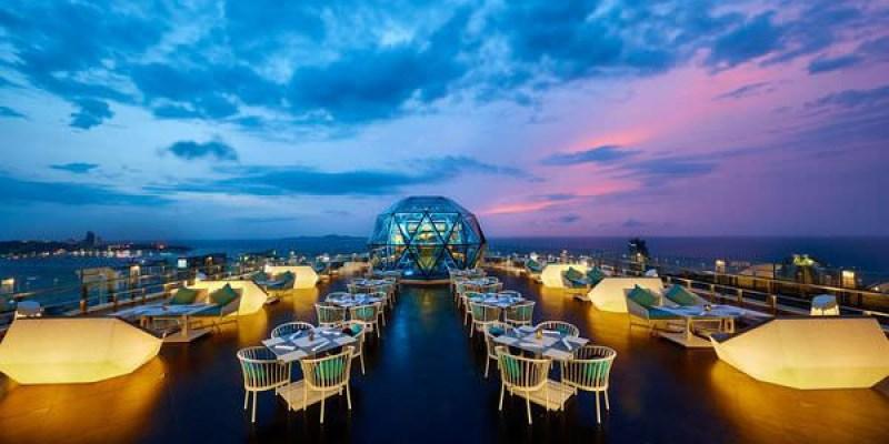 【芭達雅飯店】Grande Centre Point Pattaya-結合水上樂園、高空步道並與百貨連通的五星時尚湛藍海洋風飯店