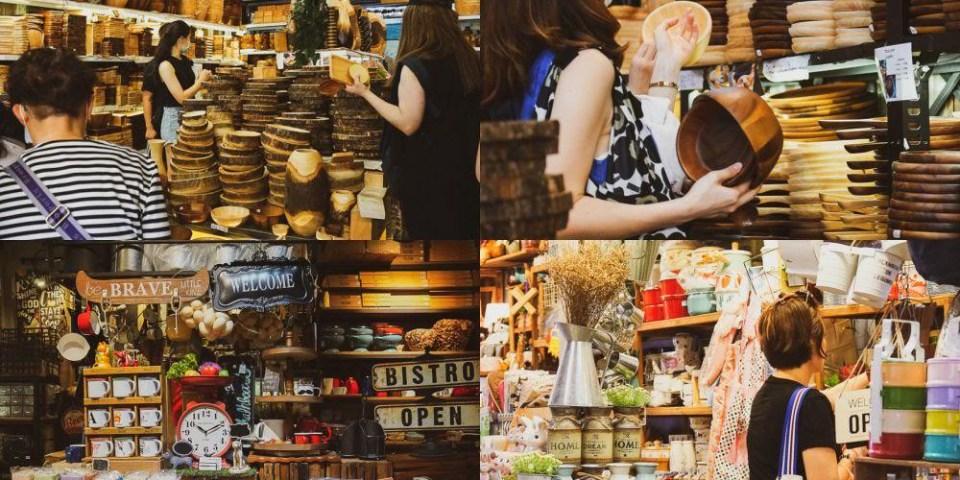 【曼谷必買】Chatuchak Weekend Market 洽圖洽周末市集 3 家失心瘋可愛餐具店,不再迷路逛到翻~超好找!Ped Maison、鄉村風餐具、VILA