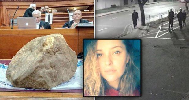 Frozen photo: Krásná Hanna († 21) 37 kilovér kámen! She was brutally raped before