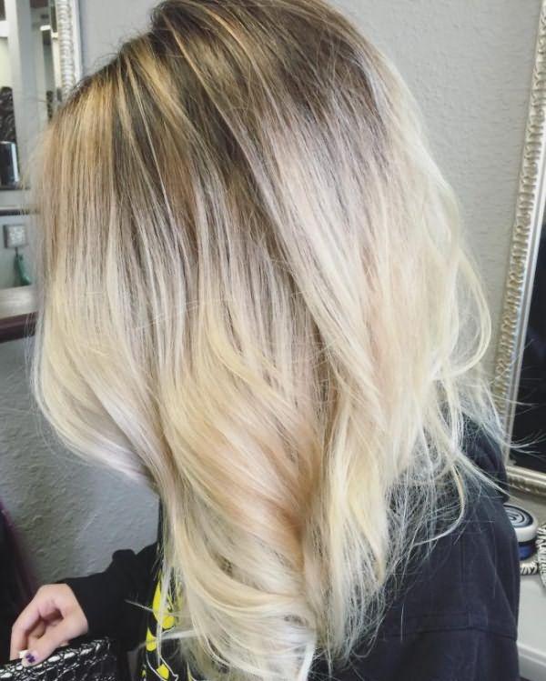 Серо русый цвет волос фото