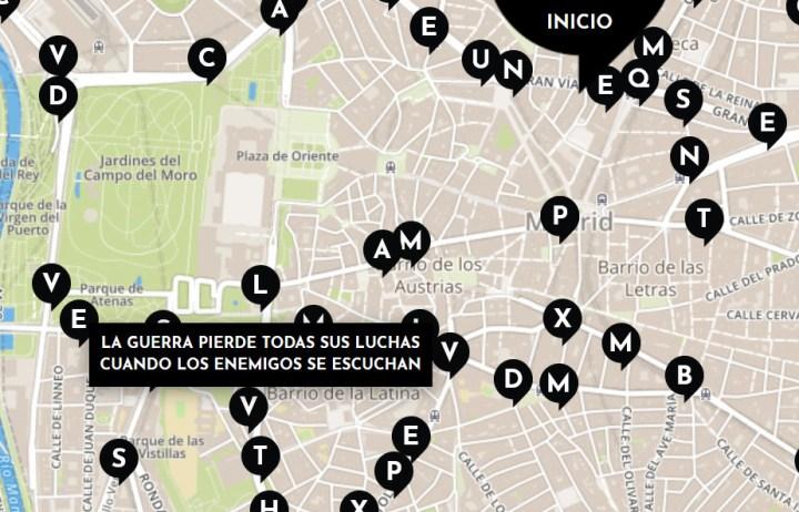 versos en Madrid
