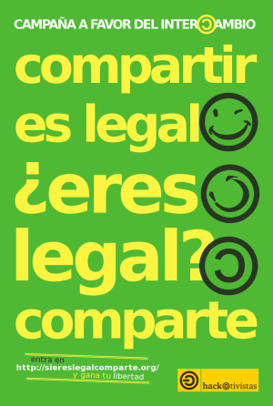 Si eres legal, comparte