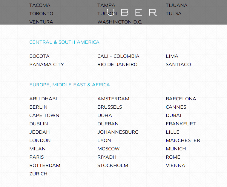 Uber no está en Madrid