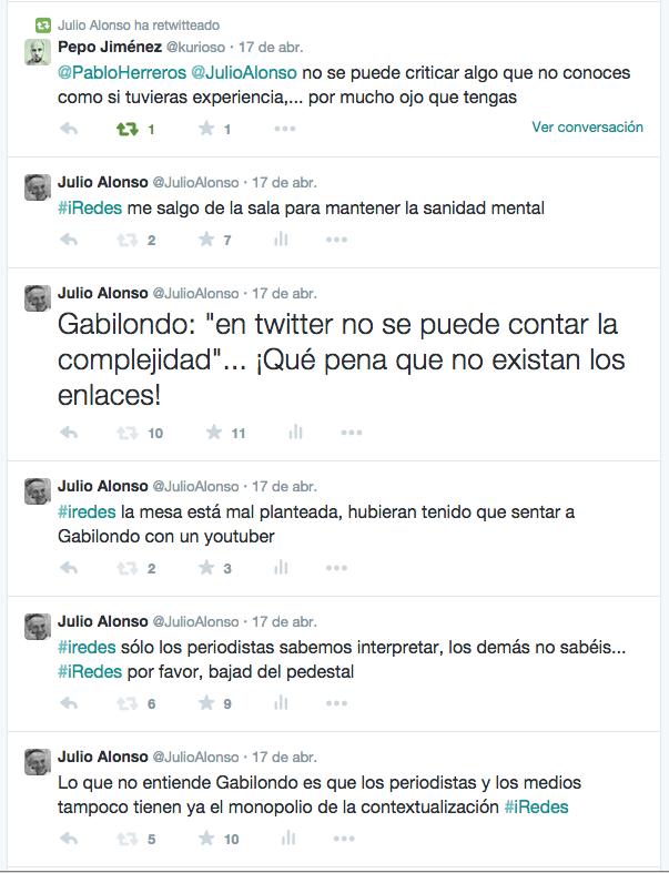 Troleando a Gabilondo en iredes 2015