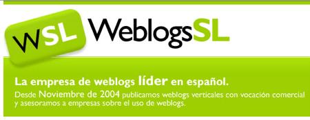 Nuevo diseño Weblogs SL