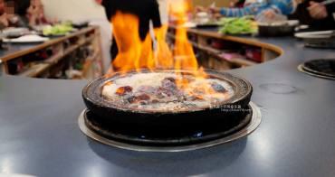 台中西區│阿里郎迷你火鍋-整罐米酒的燒酒雞.蒜頭雞有滿滿的蛤蜊和蒜頭