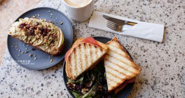 【台中西區】Solidbean Coffee Roasters-台中喜愛的咖啡館,淹沒冰淇淋有雙份濃縮和焦糖脆片,輕食三明治和吐司推薦好吃