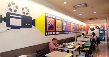 台中中區│7-11市鑫門市-手繪風美食牆及攝影棚用餐區小7