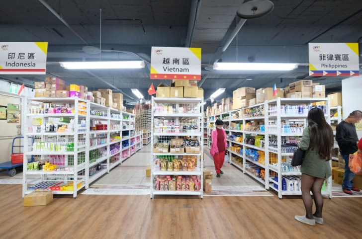 20190223154815 92 - Big King Shopping Center-不用出國就能買到東南亞餅乾、零食、咖啡、調味料,貼心分國別擺放